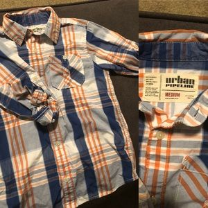 Urban Outfitters Boys Long-sleeve Button Down